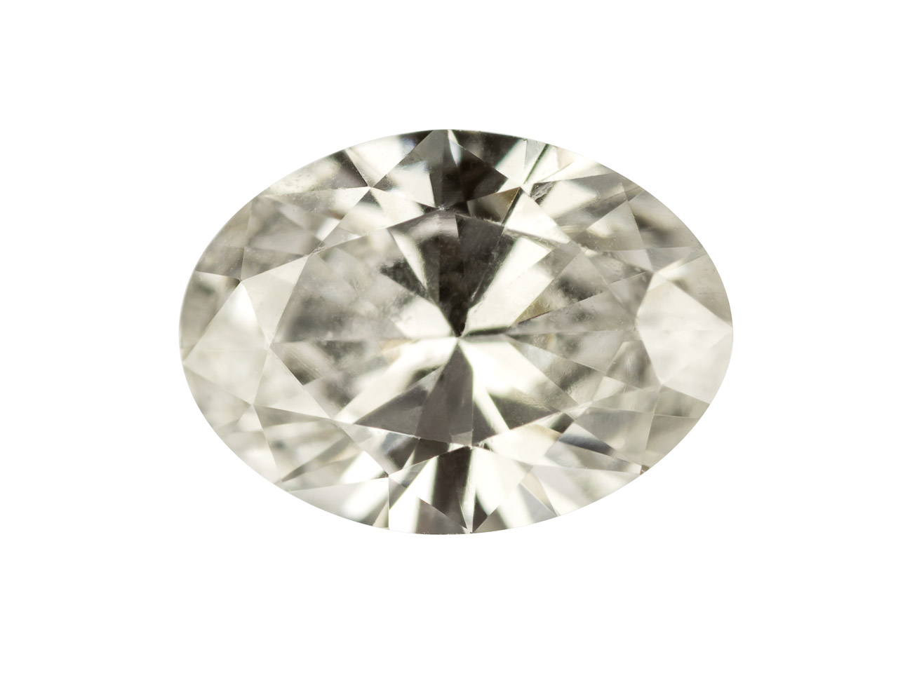 Diamante Ovale, G/vs, 10 Pt/3 X 2 MM