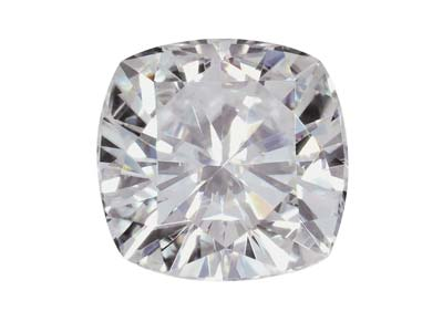 Moissanite, Taglio Cuscino, 4,5 Mm, 0,42 Ct, Equivalenza Diamante 0,5 Ct, Ottima Qualità