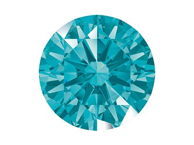 Swarovski Zirconia, Taglio Pure Brilliance Tondo, 5 Mm, Menta