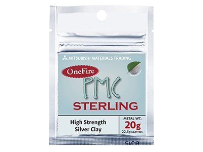 Precious Metal Clay Pmc Onefire Sterling, 22,5 G