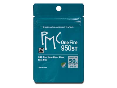 Precious Metal Clay Pmc   Onefire Sterling, 56,3 G