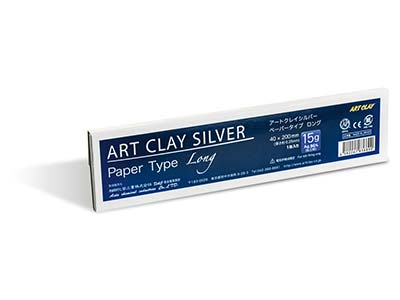 Carta Art Clay Silver Lungo 15 G 40x200 MM