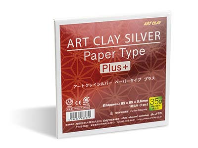 Carta Art Clay Silver Lungo 35 G 85x85 MM