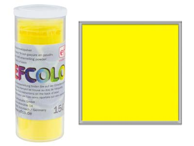 Smalto Efcolor, 10ml, Giallo