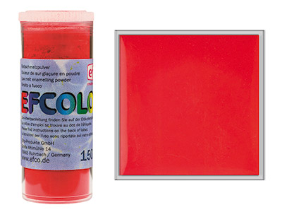 Smalto Efcolor, 10ml, Fragola