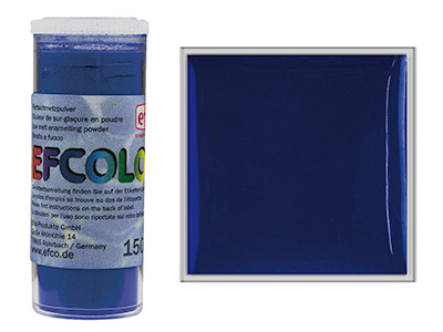 Smalto Efcolor, 10ml, Blu Scuro