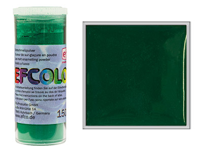 Smalto Efcolor, 10ml, Verde Scuro