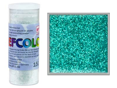 Smalto Glitter Efcolor, 10ml, Turchese