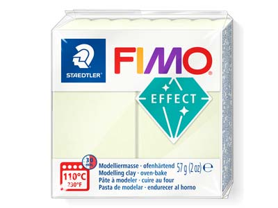 Panetto Di Pasta Polimerica Fimo Effect, 57g, Luminescente Riferimento  Colore Fimo 04