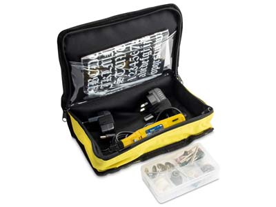 Variable Speed Rotary Drill Kit With 75 Accessories