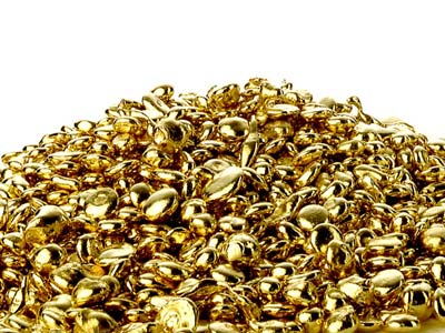Grani Per Fusione Fairtrade In Oro Giallo Da 9 Ct