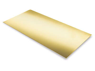 Lamina Df, 1 Mm, Oro Giallo Da 9 Kt Df