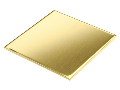 Lamina Ds, 3 Mm, Oro Giallo Da 22 Kt