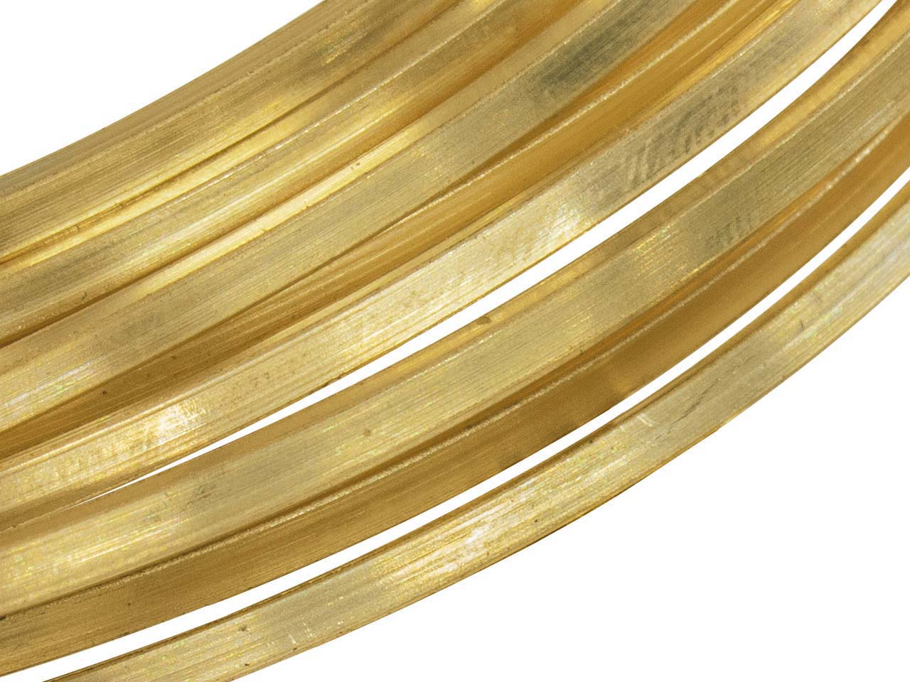 Filo Metallico A Sezione Quadrata Fairtrade Gold, 6 Mm, Df, Oro Giallo Da 9 Ct