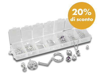 Kit connettori in Argento 925